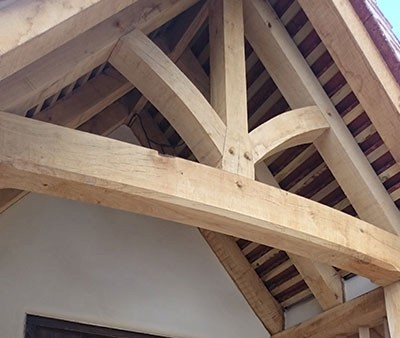 Replacement Timber to Porch in Suffolk