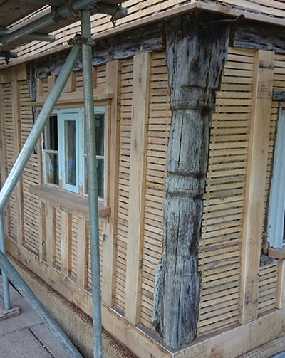 Timber frame repair specialists Suffolk