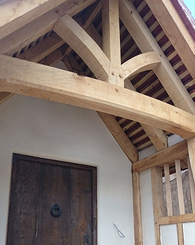 Timber frame repairs in Suffolk